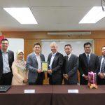 LOI Signing Ceremony between MAHTEC & Kompas International College 11 Apr 19